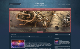 Grunger Free WordPress Theme