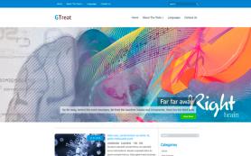 GTreat Free WordPress Theme