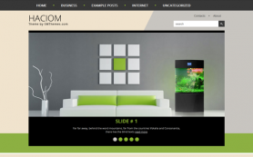Haciom Free WordPress Theme