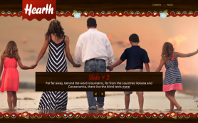 Hearth Free WordPress Theme