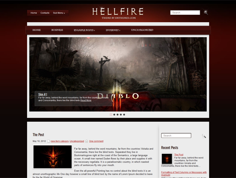 HellFire WordPress Theme
