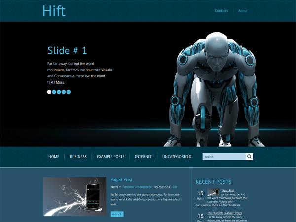 Hift Free WordPress Theme