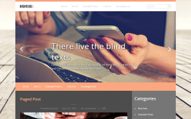 HightLog Free WordPress Theme
