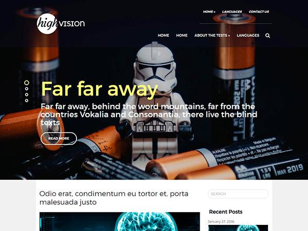 HighVision WordPress Theme