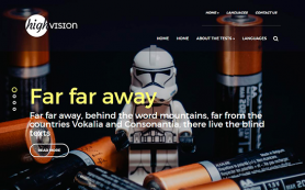 HighVision Free WordPress Theme