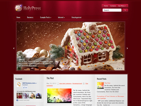 HolyPress Free WordPress Theme