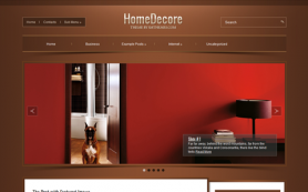 HomeDecore Free WordPress Theme