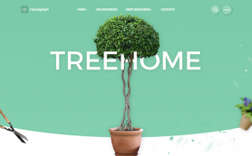 HomePlant Free WordPress Theme
