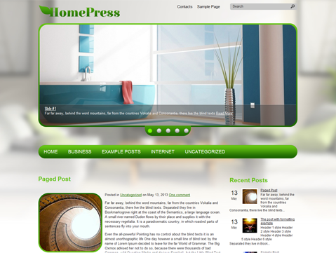 HomePress WordPress Theme