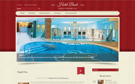 HotelBook Free WordPress Theme