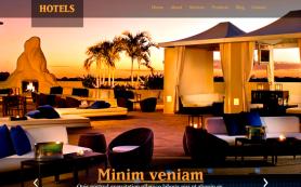 Hotels Free WordPress Theme