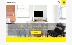 HouseDesign Free WordPress Theme