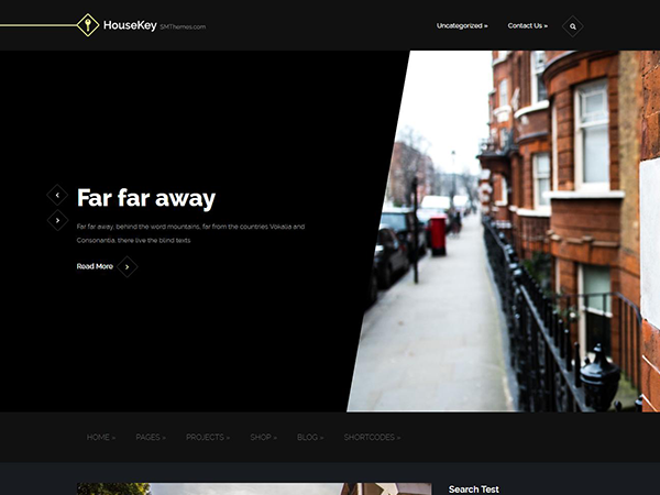 HouseKey WordPress Theme