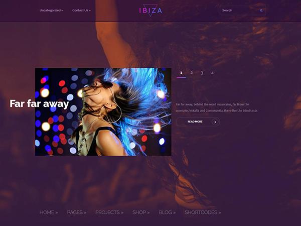 Ibiza WordPress Theme