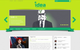 Idea Free WordPress Theme