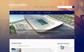 Immovables Free WordPress Theme