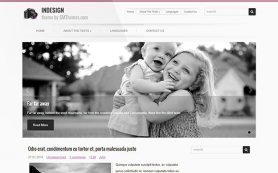 InDesign Free WordPress Theme