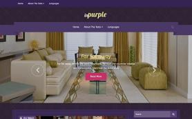 InPurple Free WordPress Theme