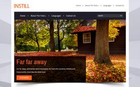 InStill Free WordPress Theme
