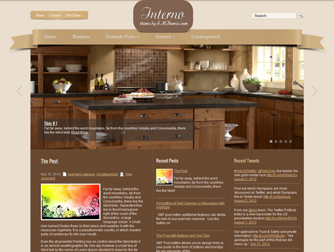 Interno WordPress Theme