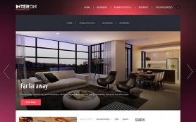 Interon Free WordPress Theme