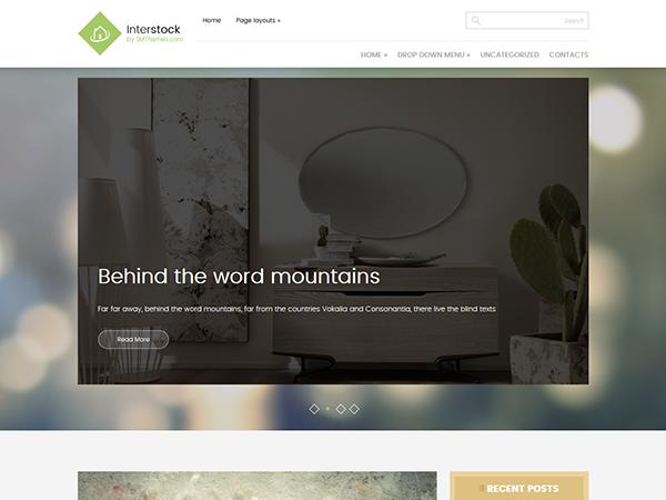 InterStock WordPress Theme