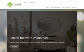 InterStock Free WordPress Theme