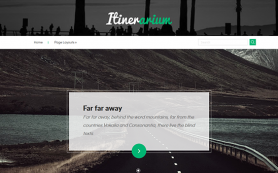 Itinerarium Free WordPress Theme