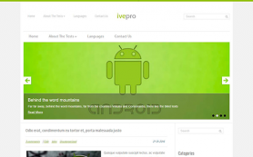 Ivepro Free WordPress Theme