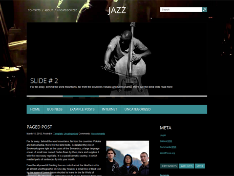 Jazz WordPress Theme