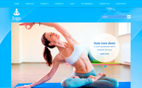 Joga Free WordPress Theme