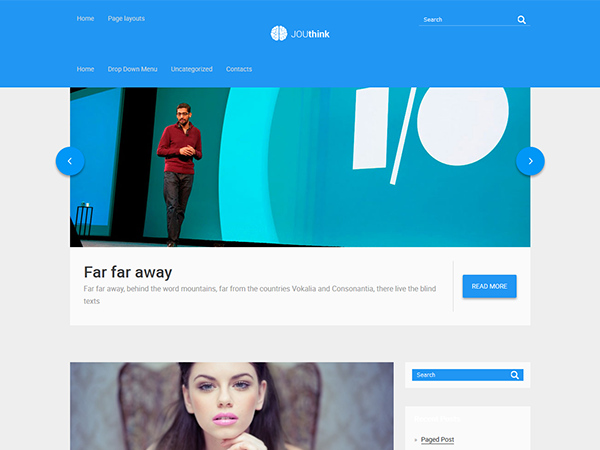 JOUthink Free WordPress Theme