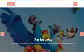 Junio Free WordPress Theme