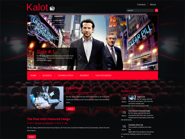 Kalot Free WordPress Theme