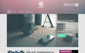 KeyTech Free WordPress Theme