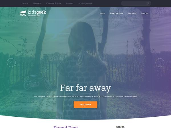 KidsGeek WordPress Theme