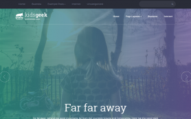 KidsGeek Free WordPress Theme