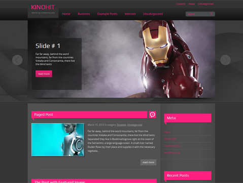 KinoHit WordPress Theme