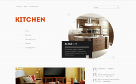 Kitchen Free WordPress Theme