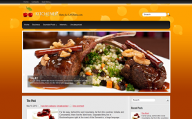 Kitchener Free WordPress Theme