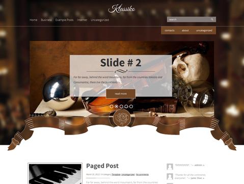 Klassiko WordPress Theme