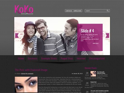 KoKo Free WordPress Theme