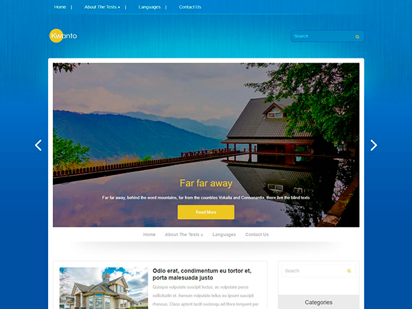 Kwanto Free WordPress Theme