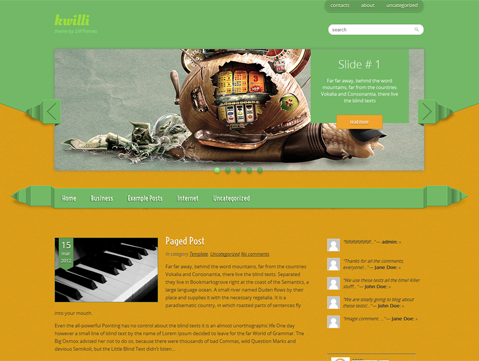 Kwilli WordPress Theme