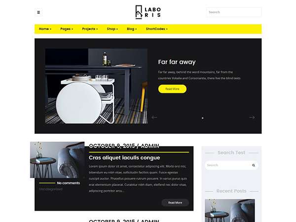 Laboris Free WordPress Theme
