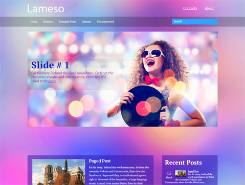 Lameso WordPress Theme