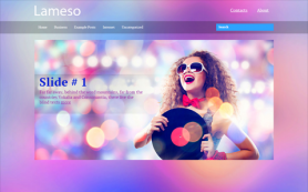 Lameso Free WordPress Theme