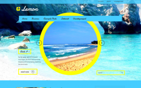 Lemon Free WordPress Theme