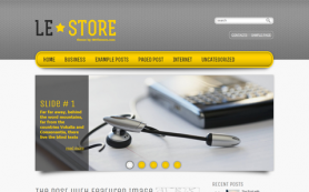 LeStore Free WordPress Theme