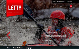 Letty Free WordPress Theme